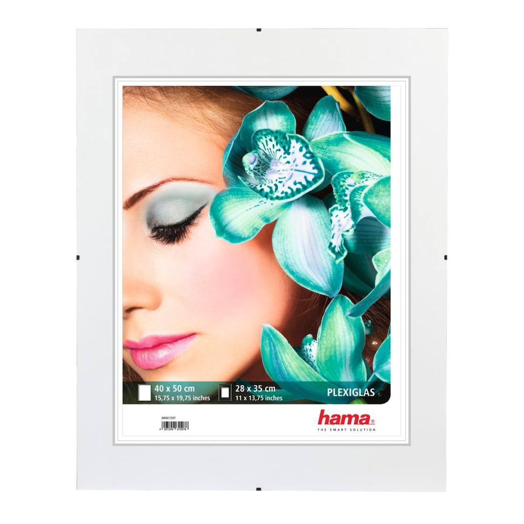 "Hama Rahmenloser Bildhalter ""Clip-Fix"", Polystyrol, 40 x 50"