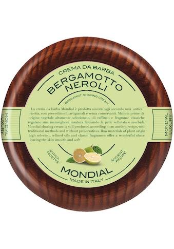 "Mondial Antica Barberia Rasiercreme ""Luxury Shaving Cream Wooden Bowl Bergamotto Neroli"" kaufen"