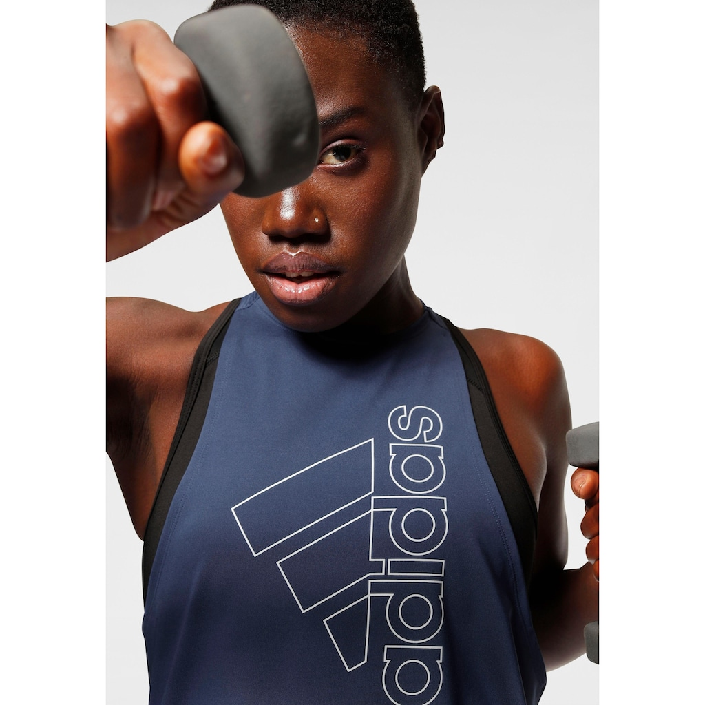adidas Performance Lauftop »BADGE OF SPORT TANKTOP«