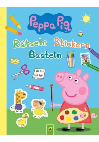 Buch »Peppa Pig Rätseln Stickern Basteln / DIVERSE« kaufen