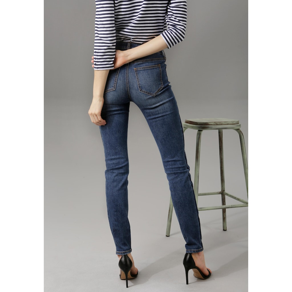 Aniston CASUAL Skinny-fit-Jeans, regular waist