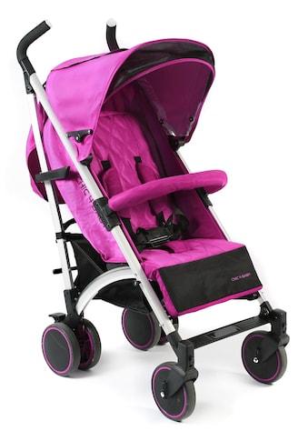 CHIC4BABY Kinder-Buggy »Luca, fuchsia«, mit schwenk- und feststellbaren Vorderrädern kaufen