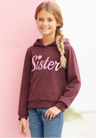 Arizona Kapuzensweatshirt »SISTER« kaufen