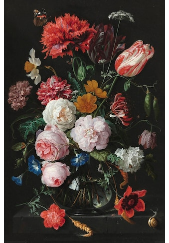 Home affaire Deco - Panel »Stilleben Blumen in Vase Jan Davidsz de Heem« kaufen