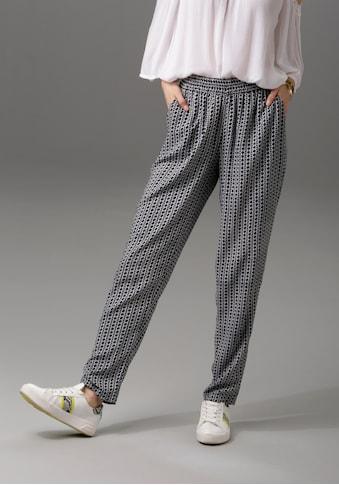 Aniston CASUAL Schlupfhose, in unterschiedlichen Drucken kaufen
