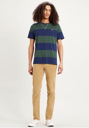 Levi's® T-Shirt, breite Streifen mit dezentem Logo kaufen