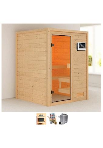 Karibu Sauna »Sandy«, 4,5-kW-Ofen mit ext. Steuerung kaufen