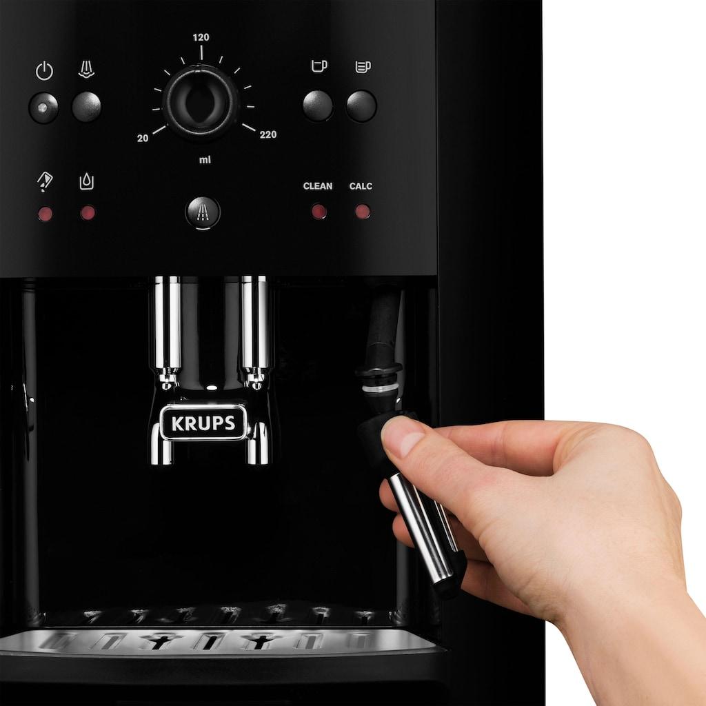 Krups Kaffeevollautomat »EA8110 Arabica Quattro Force«, 1450 Watt, Wassertankkapazität: 1,8 Liter, Pumpendruck: 15 bar