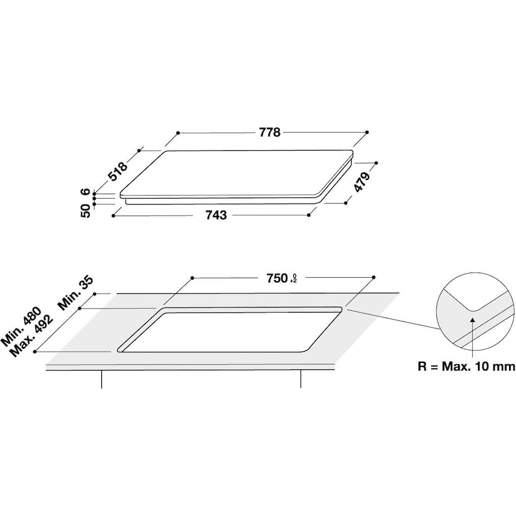 BAUKNECHT Induktions-Kochfeld von SCHOTT CERAN® »BS 2677C AL«, BS 2677C AL