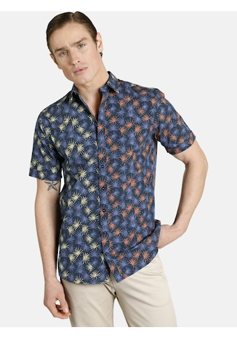 SHIRTMASTER Kurzarmhemd »escapefromwinter«, in trendigem Hawaii-Muster kaufen