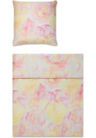 Yes for Bed Bettwäsche »Haze«, mit Aquarellblüten kaufen