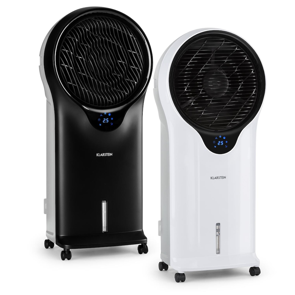 Klarstein 3 in 1 Mobiler Ventilator Luftkühler Luftbefeuchter Klimagerät »ACO4 Whirlwind«