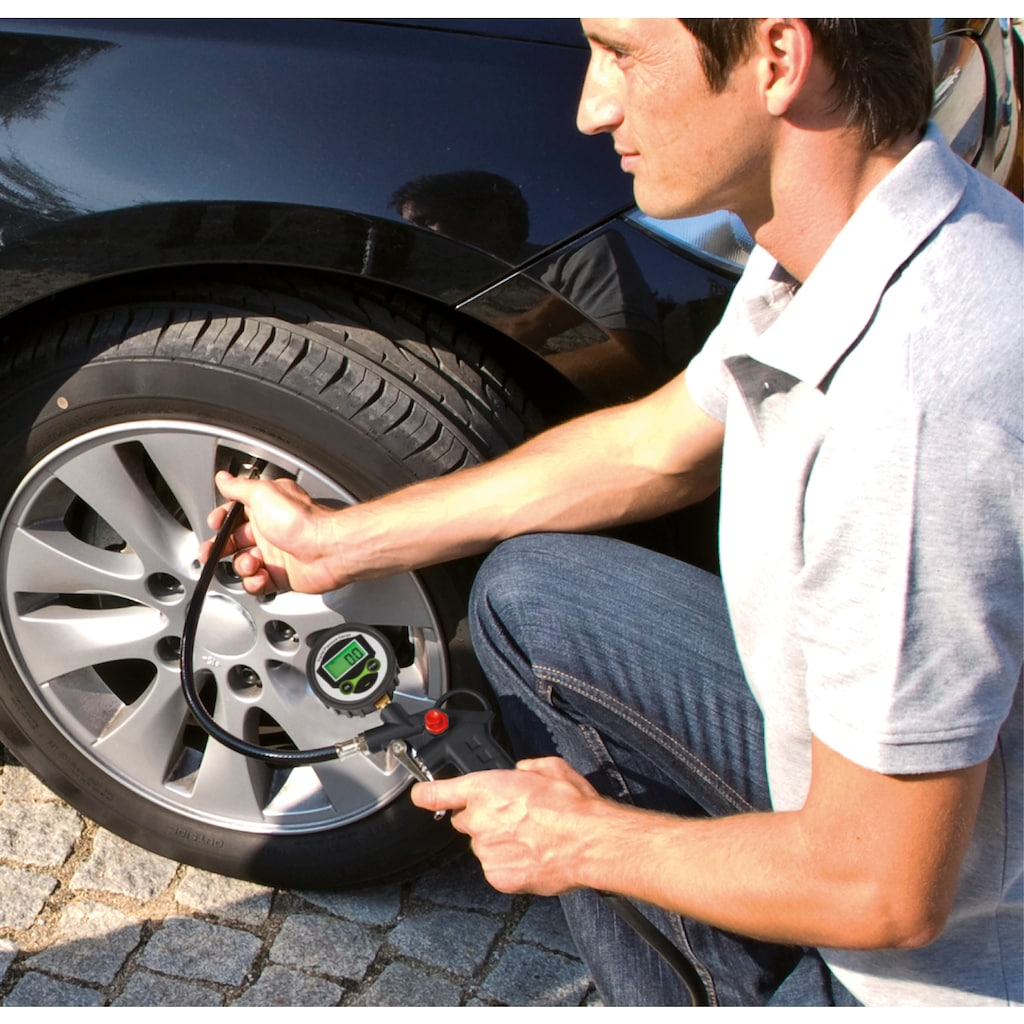 Einhell Druckluftwerkzeug, Reifenfüllmesser