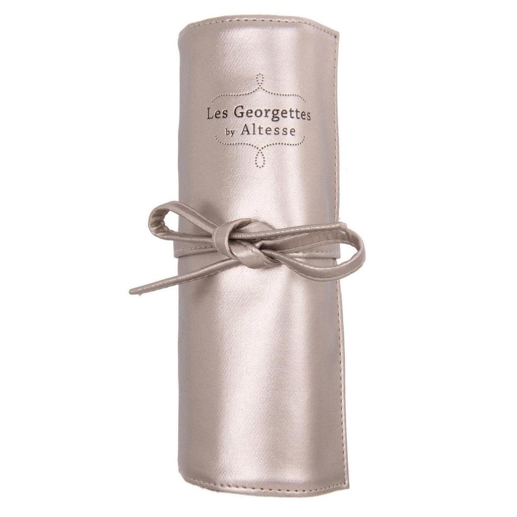 Les Georgettes Schmuckrolle »TRAVEL POUCH GOLD, WMLGTPG«, (1 tlg.), mit Ringleiste