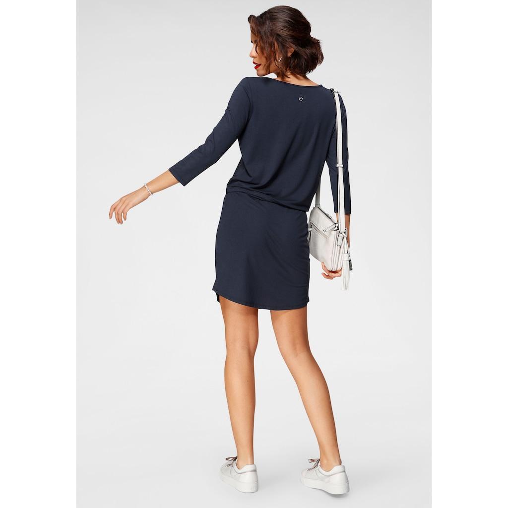 Tamaris Jerseykleid, mit Schnürung