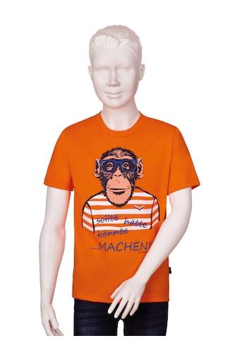 Trigema T-Shirt, mit großem Affen-Druckmotiv kaufen