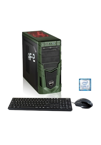Hyrican Gaming PC i7 - 9700F, 16GB, 480GB SSD, 1TB HDD, RTX 2060 »Military Gaming 6437« kaufen