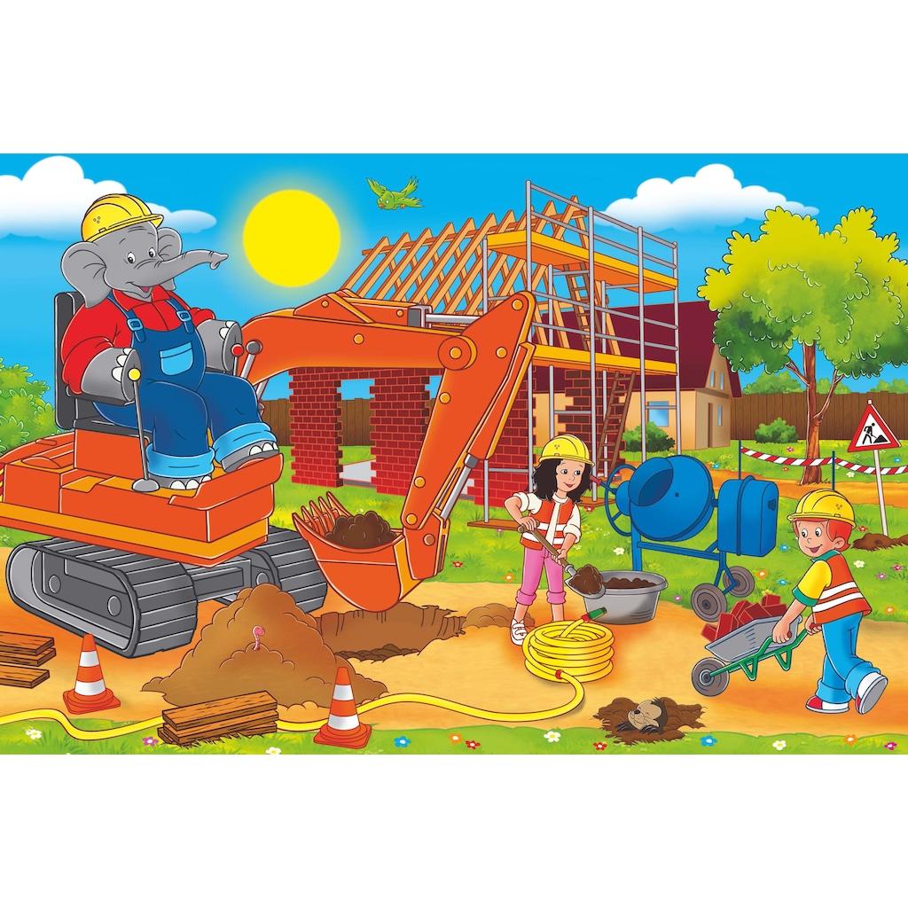 Schmidt Spiele Puzzle »Puzzlebox im Metallkoffer, Benjamin Blümchen®«