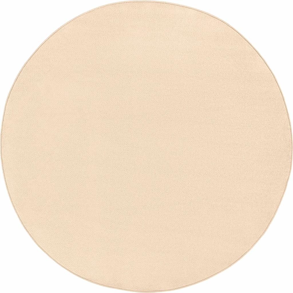 HANSE Home Teppich »Fancy«, rund, 7 mm Höhe, Kurzflor, gekettelt, Wohnzimmer
