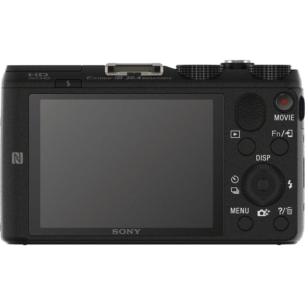 Sony Superzoom-Kamera »Cyber-Shot DSC-HX60B«, 24mm Sony G, 20,4 MP, 30x opt. Zoom, WLAN (Wi-Fi), 30 fach optischer Zoom
