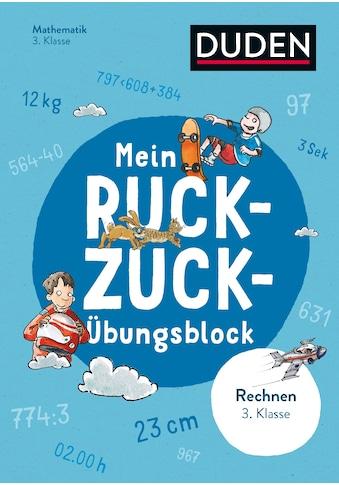 Buch »Mein Ruckzuck-Übungsblock Rechnen 3. Klasse / Silke Heilig, Jürgen Rieckhoff,... kaufen