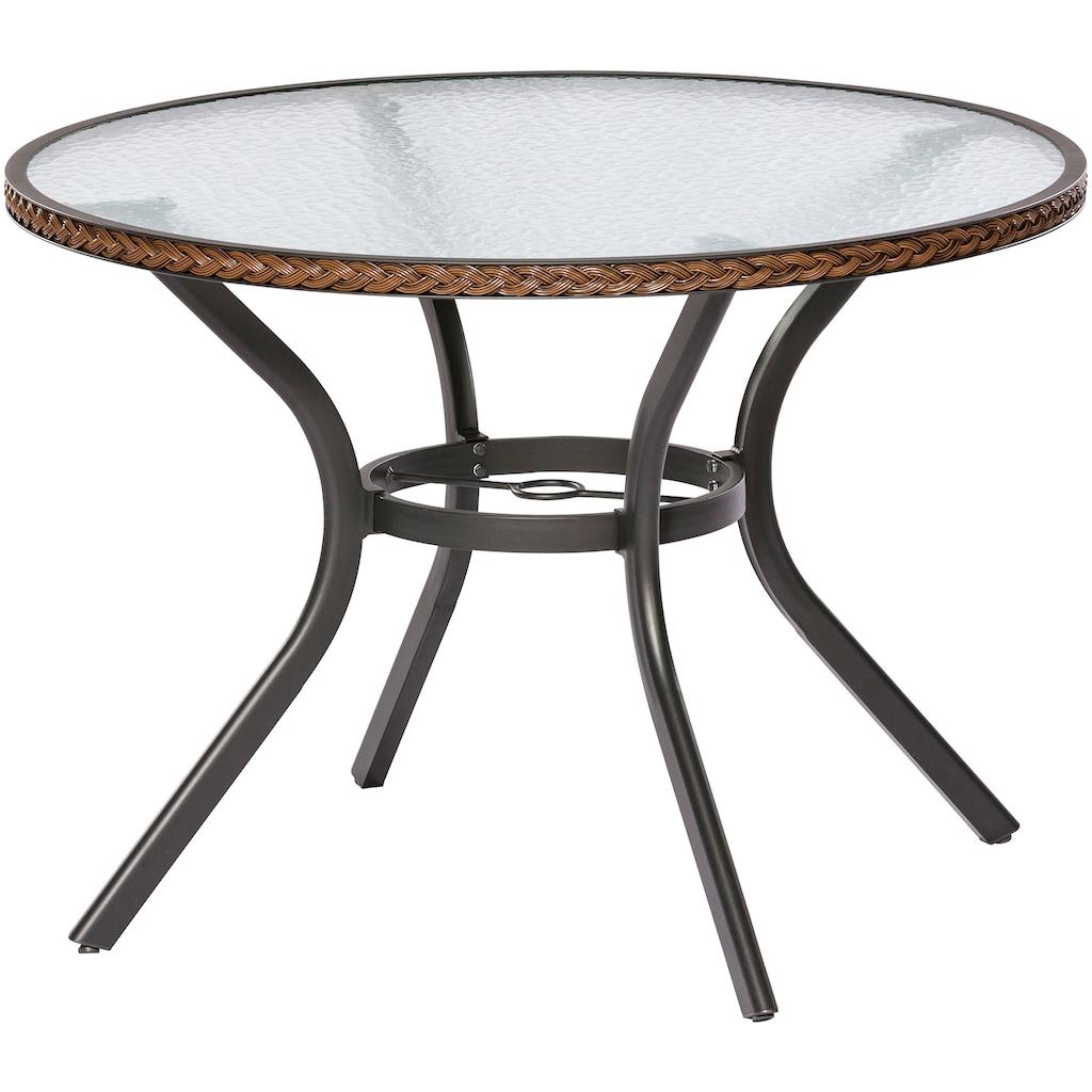 MERXX Gartentisch »Ravenna«, für den Balkon geeignet, Ø 100 cm