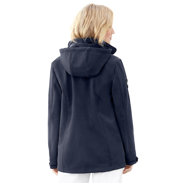 Casual Looks  Softshelljacke mit Fleece gefüttert