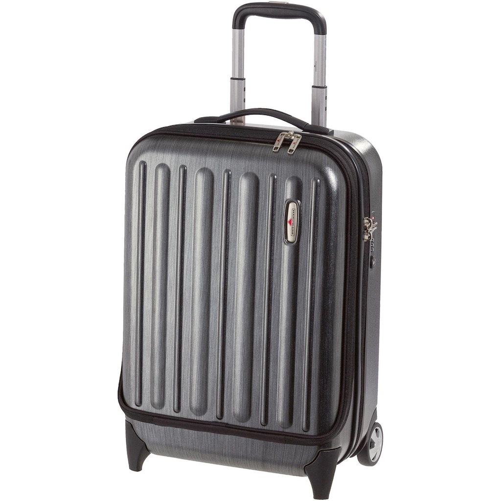 "Hardware Business-Trolley ""PROFILE PLUS , metallic grey brushed"", 2 Rollen"
