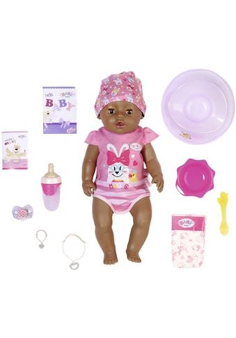 Baby Born Babypuppe »Magic Girl Brown Eyes, 43 cm«, (Set, 13 tlg.), mit 10... kaufen
