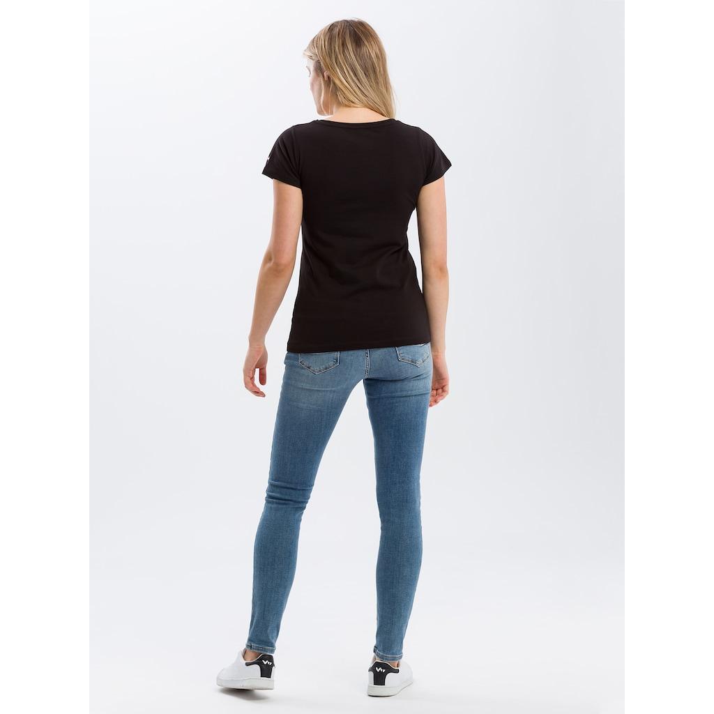 Cross Jeans® T-Shirt »55485«, Komfortables Basic