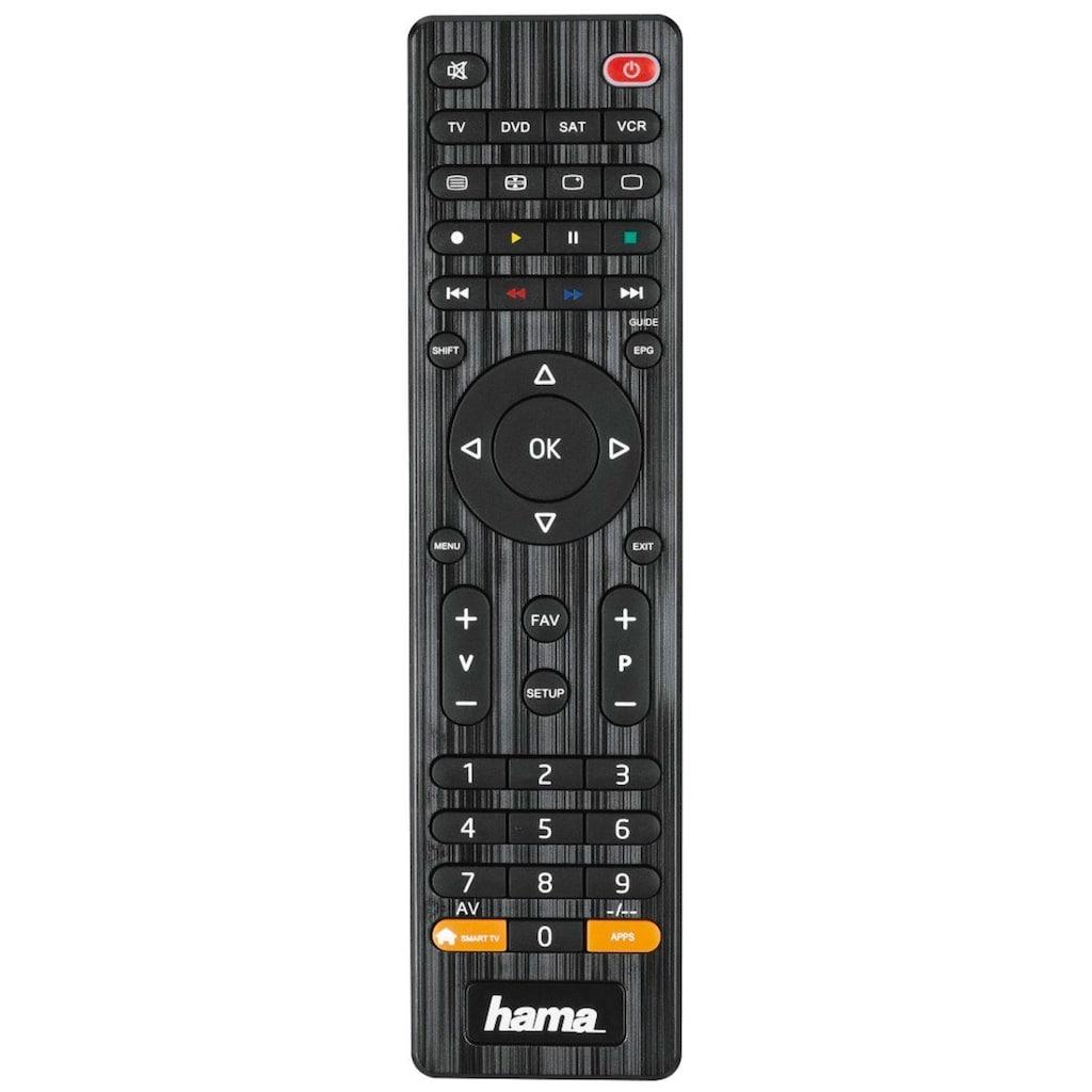 Hama Universal Ersatzfernbedienung für 4 Geräte (z.B. TV, DVD)