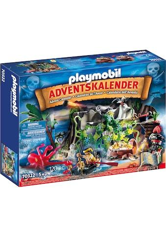 """Playmobil® Adventskalender """"Schatzsuche in der Piratenbucht (70322), Christmas"""" (120 - tlg.) kaufen"""