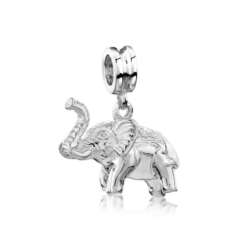 Nenalina Bead »Bead Anhänger Elefant Tier Reise 925 Silber«