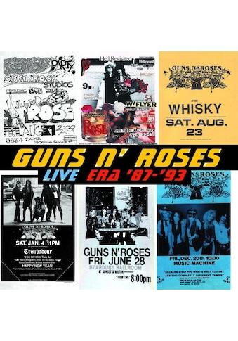 Musik-CD »LIVE ERA '87-'93 / Guns N' Roses« kaufen