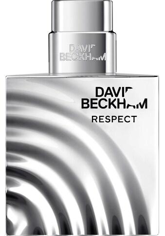 DAVID BECKHAM Eau de Toilette »Respect« kaufen