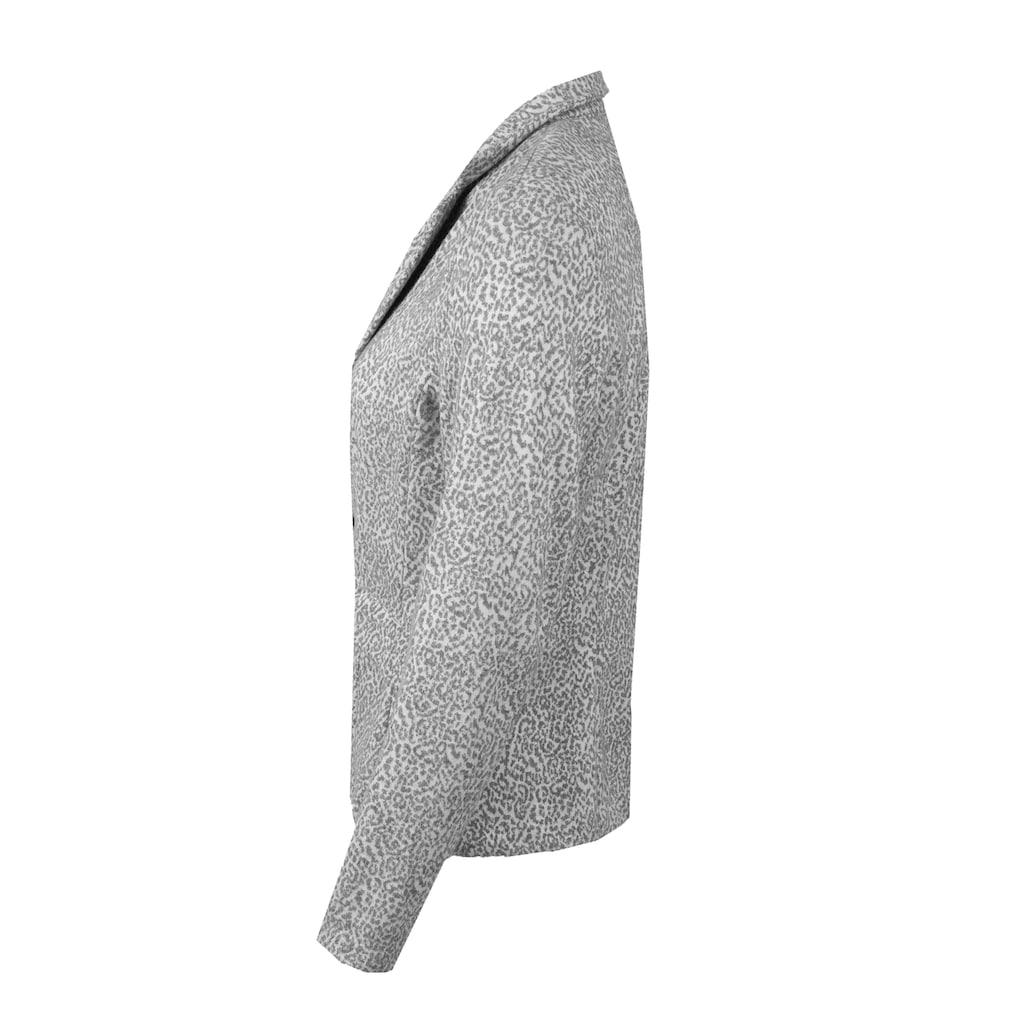 bianca Kurzblazer »JOALINA«, im modernen Minimalprint