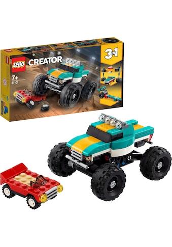 LEGO® Konstruktionsspielsteine »Monster-Truck(31101), LEGO® Creator«, (163 St.), Made... kaufen