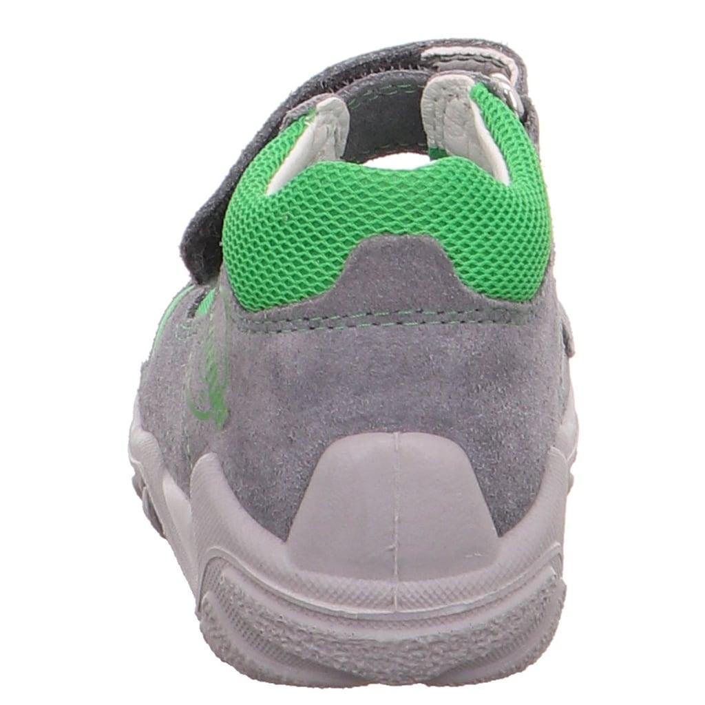 Superfit Sandale »Flow WMS Weiten-Messsystem: mittel«, mit doppeltem Klettverschluss