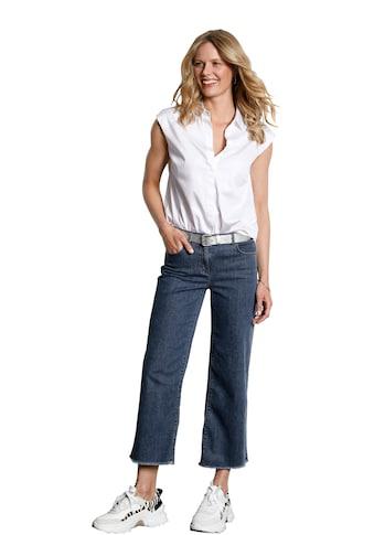 DAY.LIKE 7/8-Jeans »7/8-Jeans-Culotte«, Fransen kaufen