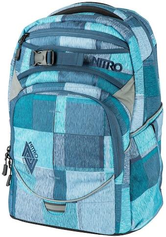 NITRO Schulrucksack »Superhero Zebra Ice« kaufen