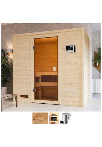 Karibu Sauna »Sunie«, 3,6-kW-Bio-Plug & Play Ofen mit ext. Steuerung kaufen