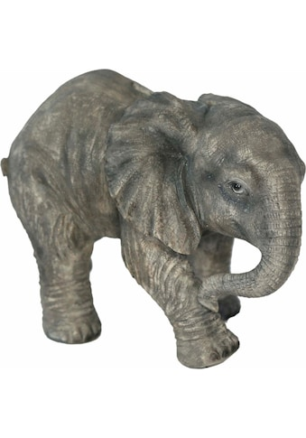 Home affaire Tierfigur »Elefant laufend, Breite ca. 25cm , Höhe ca. 17cm« kaufen