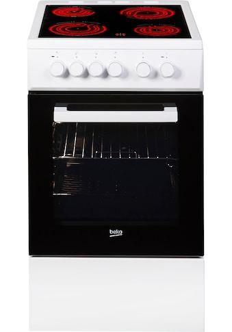 BEKO Elektro - Standherd, Backauszug, Simple Steam Reinigungsfunktion kaufen