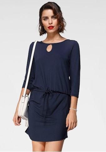 Tamaris Jerseykleid, mit Schnürung kaufen