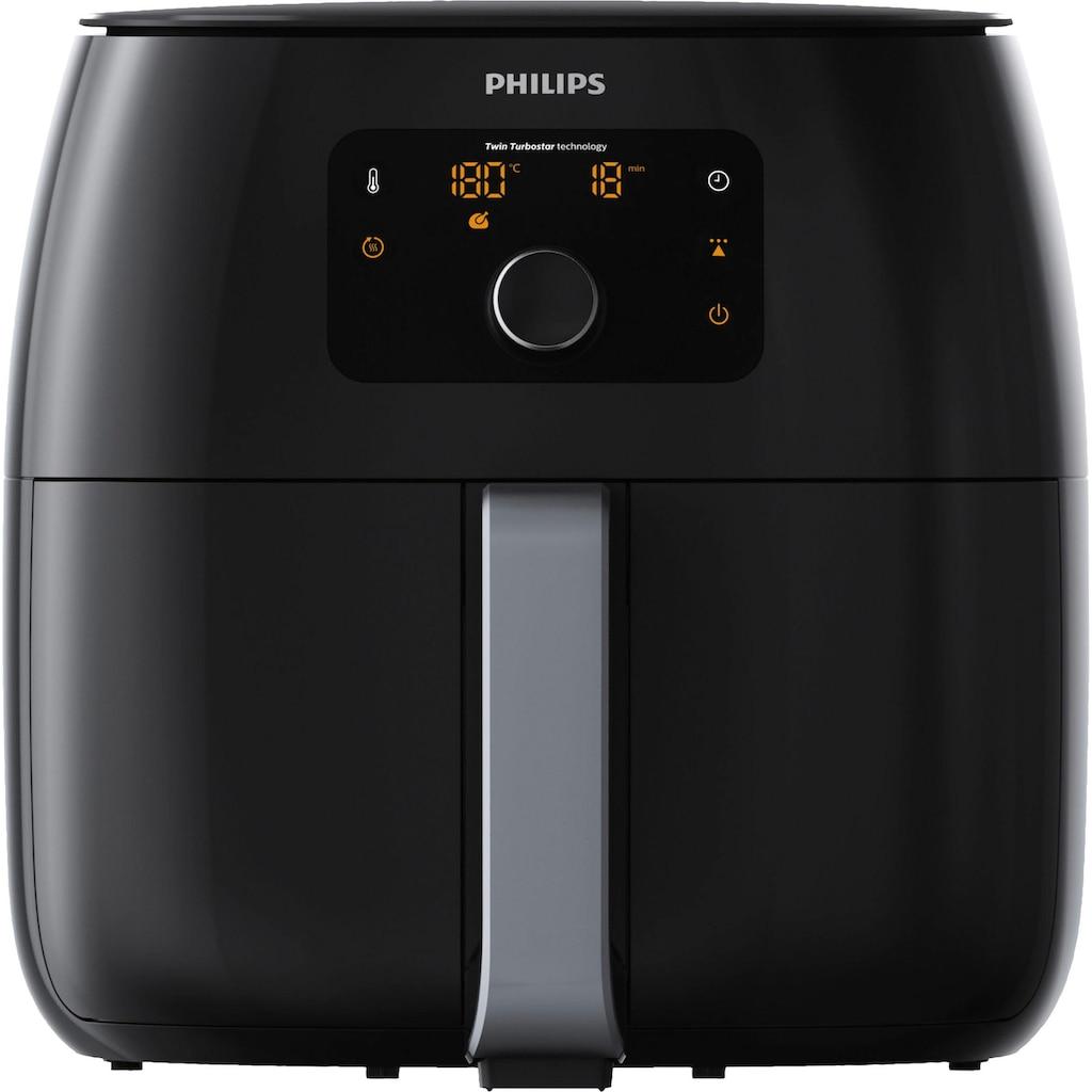 Philips Heissluftfritteuse »Airfryer XXL HD9654/90«, Fassungsvermögen 1,4 kg, digitales Display, inkl. Grilleinsatz im Wert von UVP €54,99