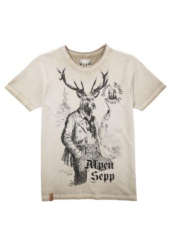 MarJo Trachtenshirt, mit Print kaufen