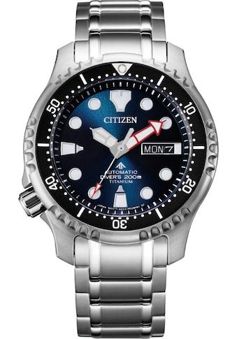Citizen Taucheruhr »Promaster Automatik Titan Diver, NY0100-50ME« kaufen