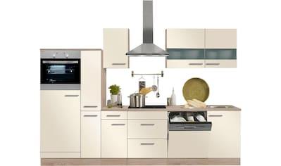 OPTIFIT Küchenzeile »Kalmar«, ohne E - Geräte, Breite 300 cm kaufen