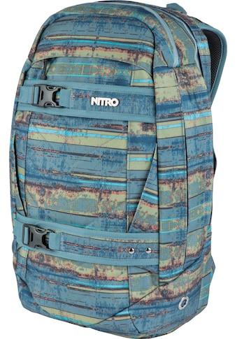 NITRO Laptoprucksack »Aerial, Frequency Blue« kaufen