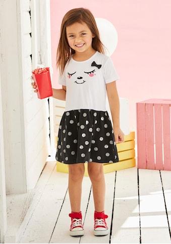 KIDSWORLD Jerseykleid, mit Glitzerdruck kaufen